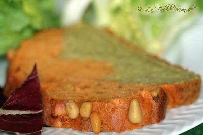 Cake marbré aux 2 pestos : La Table Monde a goûté et... adoré #28