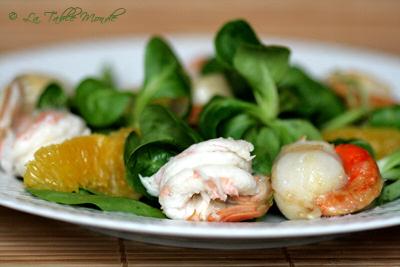 Salade de langoustines, noix de St-Jacques, suprêmes : La Table Monde a goûté et... adoré #17