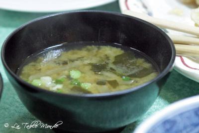 La soupe de miso
