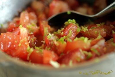 Rougail tomate combava