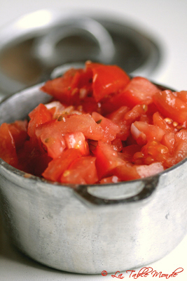 rougail tomates gingembre