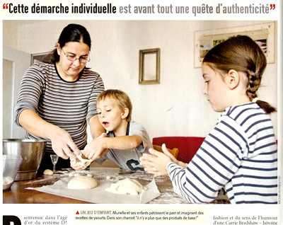Petit reportage du week-end sur le home made...