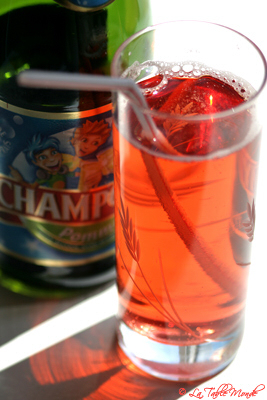 Kir royal sans alcool