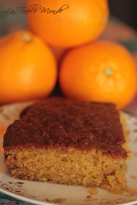 Gâteau à l'orange