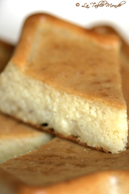 Gâteau de songes comme à l'île de La Réunion
