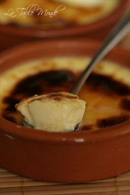 Crème brûlée d'Amélie Poulain