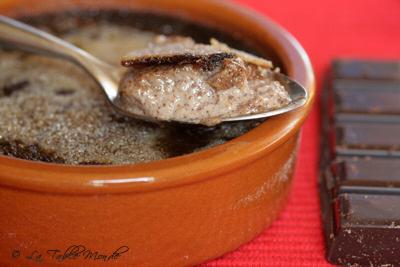 Crème brûlée au chocolat : Mille et Une Escales #5