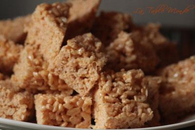 Carrés aux Rice Krispies® d'Athalie