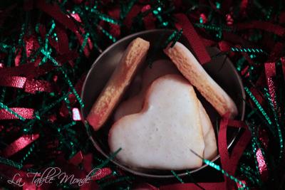 Coeurs glacés au citron : Bredele