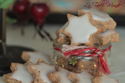 Etoiles glacées de Noël : Bredele