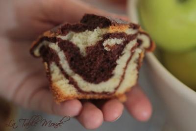 Mini gâteaux zébrés de Réquia