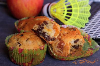 Muffins aux abricots et raisins secs