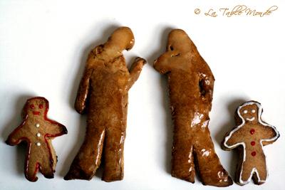 Petits bonshommes en pain d'épices