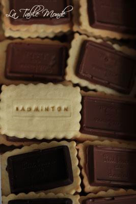 Petits Beurre au chocolat maison