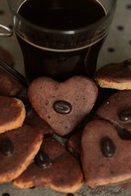 Sablés au café et cacao : Bredele