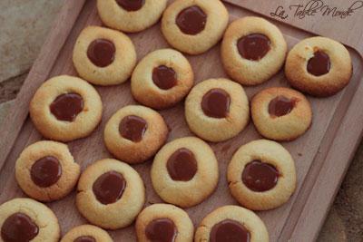 Biscuits fourrés au caramel à la cannelle : Bredele