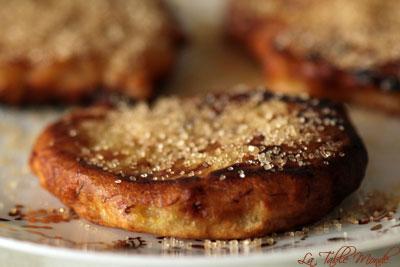 Beignets de banane comme à l'île de La Réunion