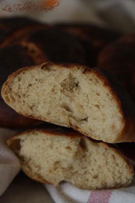 Petits pains aux pommes