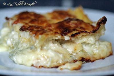 Lasagnes aux trois fromages : amateurs de cuisine light s'abstenir !