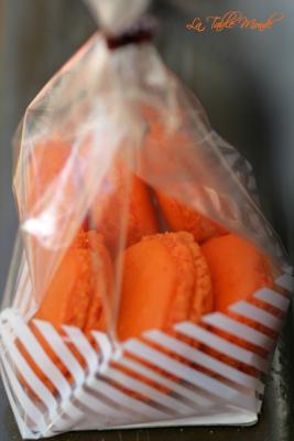 Macarons à l'orange curd