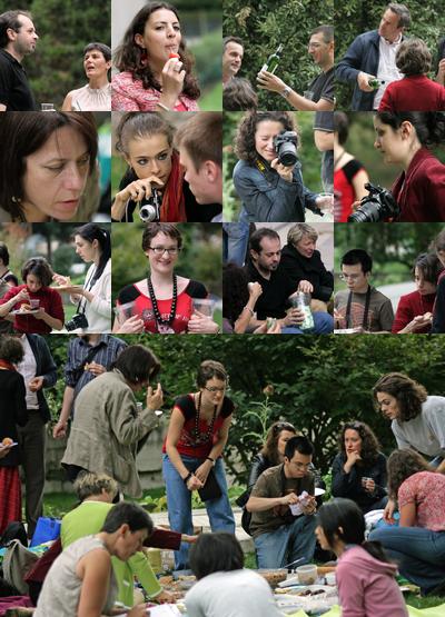 Derniers regards sur l'été et le pique-nique du 2 août 2009 à Bercy