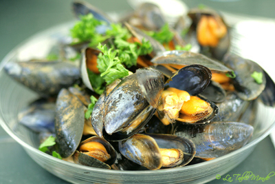 Moules au Pineau