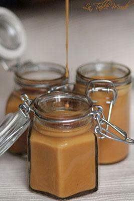 Sauce caramel au beurre salé
