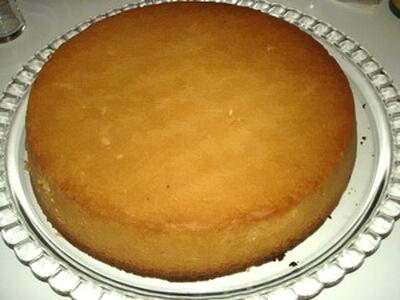 Gâteau breton fourré aux pruneaux