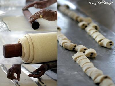 Les pains au chocolat