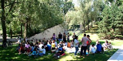 Pique-nique 2007 à Bercy entre bloggeurs culinaires