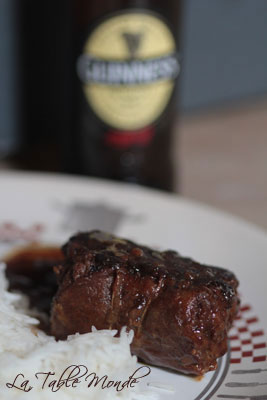 Paupiettes de veau à la Guinness®