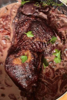 Civet de cuisse de dinde à la réunionnaise