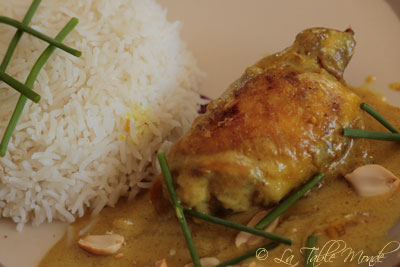 Curry de poulet vietnamien